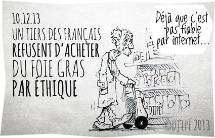 canard, caricatures, dessin de presse, dessinateur, Djipé, éthique, fêtes, foie gras, Français, gavage, humour, humour noir, maltraitance animale, oie,