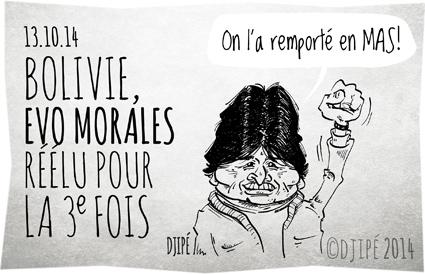 berger de lamas, Bolivie, caricatures, dessin de presse, dessinateur, Djipé, Evo Morales, humour, humour noir, président bolivien,