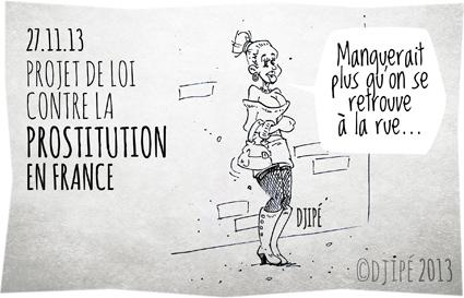 caricature, dessin de presse, dessinateur, Djipé, humour, Loi, politique, prostitution,