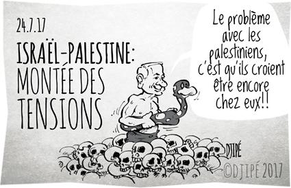 Benyamin Netanyahu, caricatures, dessin de presse, dessin satirique, dessinateur, Djipé, enfants, guerre, humour noir, Israël, mort, Palestine, palestiniens, violences,