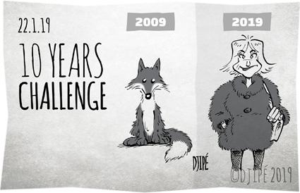 #10YearsChallenge, animaux, bien être, caricatures, climat, dessin de presse, dessin satirique, dessinateur, Djipé, enfants, extinction, fourrure, guerre, humour noir, maltraitance, mort, pauvreté, planète, pollution,